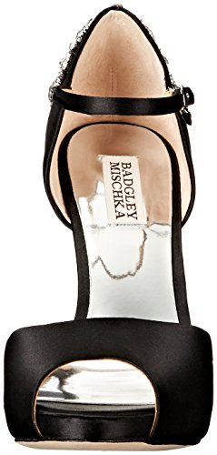 Badgley Mischka Womens Alba Vestito Sandalo Nero
