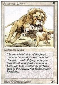 Magic: the Gathering - Savannah Lions - Revised ()