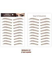 Eyebrow Tatoos 6D Imitation Waterproof Long Lasting Eyebrows Stickers Makeup Cosmetic Tools