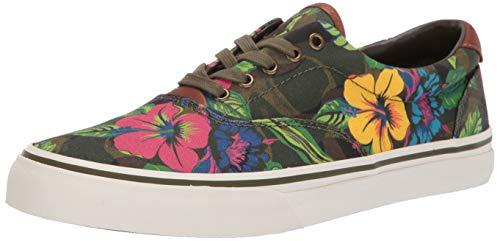 Polo Ralph Lauren Men's Thorton III Sneaker, Floral camo 375, 9.5 D US]()