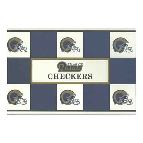 Big League Promotions Saint Louis Rams Checkers (Louis Rams End)