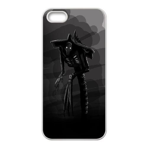 Necrons Warhammer 3 coque iPhone 4 4S Housse Blanc téléphone portable couverture de cas coque EOKXLKNBC21057