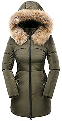 9fdcf3d7d5d9 Get Orolay Women s Down Jacket with Removable Faux Fur Trim Hood at ...