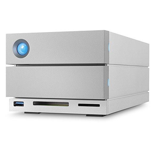LaCie 2Big Dock RAID Thunderbolt 3 12TB 7200RPM External Hard Drive STGB12000400 by LaCie