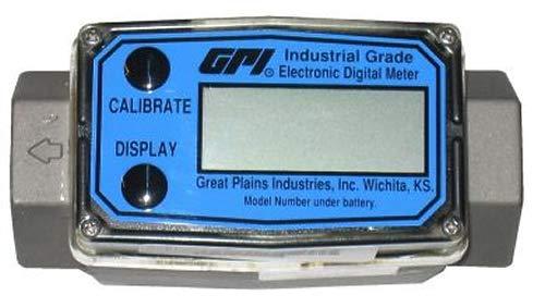 1//2 1//2 Meter Only GPI G2A05IXXXXA G2 Series Aluminum Flowmeter ISO Fittings