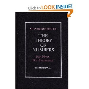 An Introduction to the Theory of Numbers, Fourth Edition