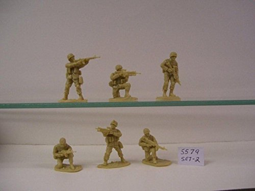 1:32 Scale 18 piece set of 54mm Plastic Army Men Figures Operation Enduring Freedom US Army Afghanistan Set #2