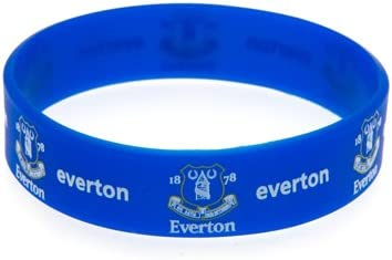 Everton FC Silicone Wristband Official Licensed Product