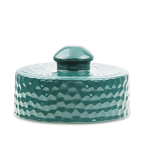 Ceramic Chimney Cap fit for Big Green Egg ,SAROO Ceramic Grill Damper Top Accessories for Large/XL Green Egg BGE Replacement - Xl Ceramic