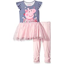 Peppa Pig Toddler Girls' 2-Piece Top and Legging Set