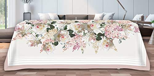 TAG HOUSE Nappe 8 Places 145 x 230 cm BOSSI 3790 violets - sans Nappe