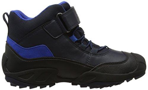 Geox J New Savage B ABX a, Zapatillas Altas Para Niños Azul (Navy/royal)