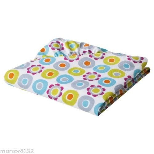 2 for $9.99 Fitted Crib Sheet in Multicolor Mix & Match Collection MULTI FLORAL MF08 100% Cotton by Sumersault
