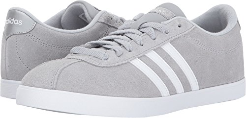 Adidas Women's Courtset Sneakers Light Onix/White/Metallic Silver (Large Image)