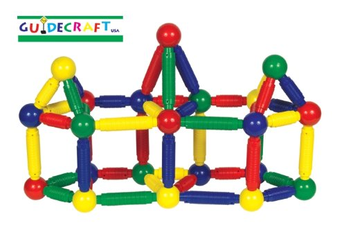 (Guidecraft Jumbo Magneatos Toy Set - 72 Piece Set)