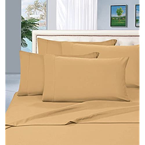 Best Seller Luxurious Bed Sheets Set On Amazon! Elegant Comfort1500  Thread Count Wrinkle,Fade And Stain Resistant 4 Piece Bed Sheet Set, Deep  Pocket, ...