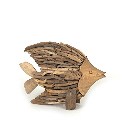 Creative Co Op Driftwood Angel Fish