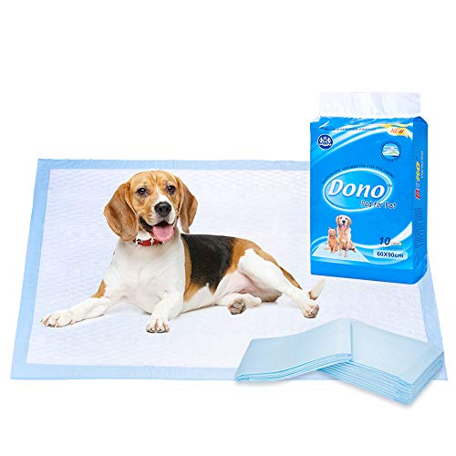 Pet Puppy Training Pads - Absorbent Dog Training Pads Regular, Disposable Potty Pee Pads for Cats Rabbits During Sleeping Traveling L
