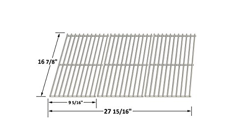 Replacement Stainless Steel Cooking Grid for Charbroil, Kenmore and Master Chef Gas Grill Models
