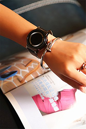 Generic Korean couple Korean fashion casual retro minimalist belt student Shi Ying watch on the table in Europe and America Institute