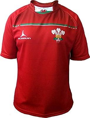 Olorun 6 Six Naciones Gales Sublimado Rugby Camisa S-7XL - 4CG: Amazon.es: Deportes y aire libre
