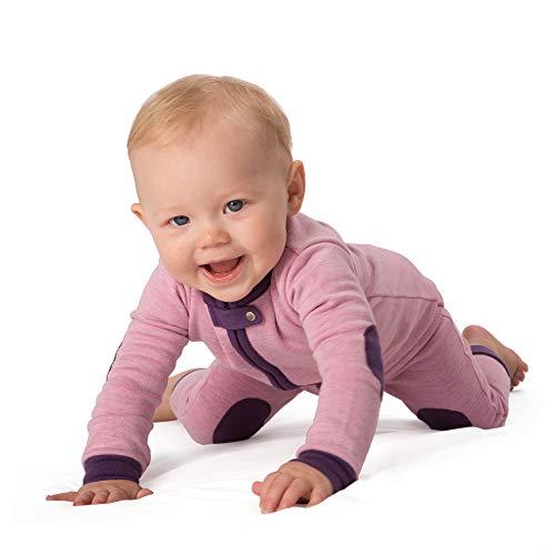 Footless Romper - baby deedee 1 Piece Cotton, Velour Long Sleeve Footless Romper Pajama, Sweet Pea, 2T