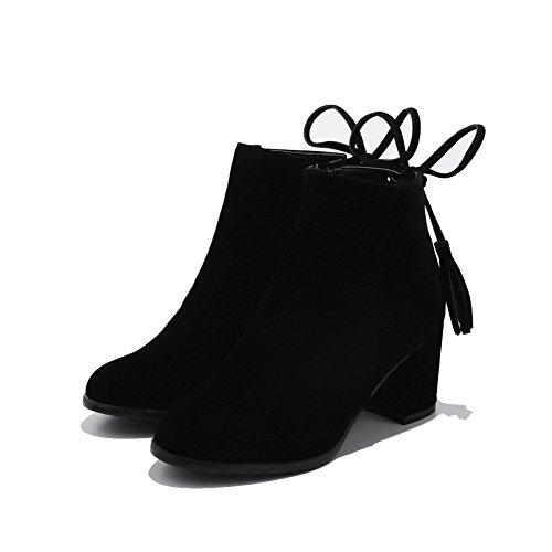 BalaMasa Abl10648 Sandales Compensées Femme Noir, 38.5 EU, ABL10648