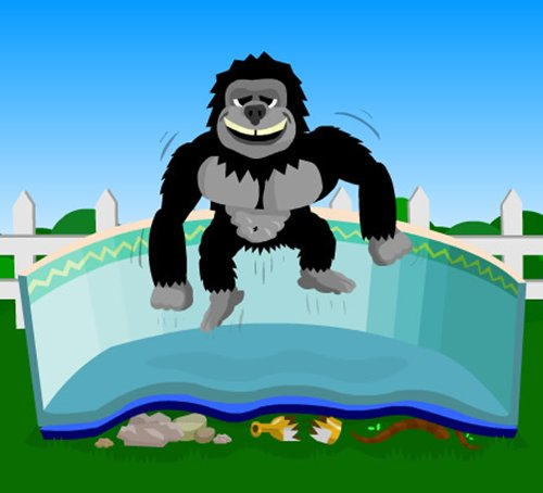 Gorilla Floor Padding for 10ft x 19ft Oval Above Ground