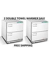 DUO Towel Warmer Double Massage Parlor, Barber Shop Beauty & Nail Salon Furniture and Equipment
