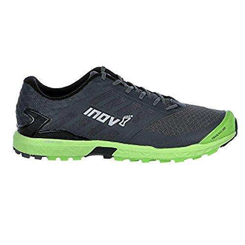Inov8 Mens Trailroc 285 Scarpe Da Trail Running E Visiera Da Allenamento Bundle Grigio / Verde