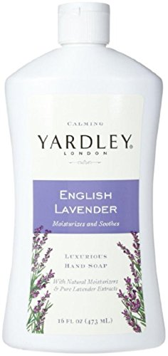 - Yardley London Luxurious Hand Soap Refill, Flowering English Lavender 16 oz (Pack of 3)