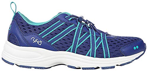 Ryka Women's Aqua Sport Sneakers Mazarine Blue 8 M