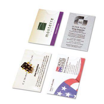 (Day-Timer Business Card Holders for Looseleaf Planners)