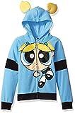 Powerpuff Girls Big Girls' Bubbles Cosplay Hoodie, Blue, S6/6X