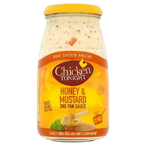 Esta noche de pollo miel y mostaza salsa de 500g: Amazon.es: Alimentación y bebidas