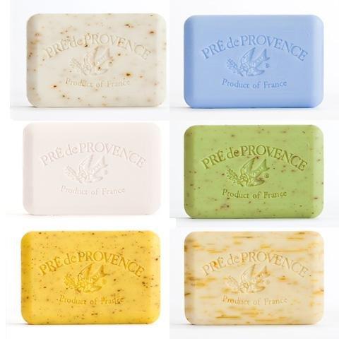 French Mint Soap (Pre de Provence French Natural Luxury Bar Soap 5.3 oz - Gift Set of 6 (6 - 5.3oz bars, White Gardenia Starflower Lime Zest Mint Leaf Lemongrass Angels Trumpet))