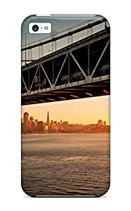 For LG G3 Case Cover EAYgrQf402RlihK Downtown Bay Bridge Sa Hard shell Silicone Gel . Fits For LG G3 Case Cover