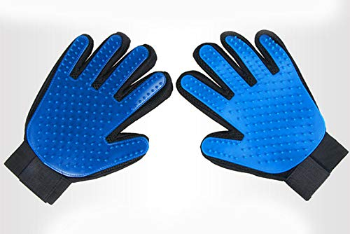 shun yi Pet Grooming Gloves, Clean Massage Gloves, Cats and Dogs, Better Gentle Hair Removal, efficient pet Hair Remover…