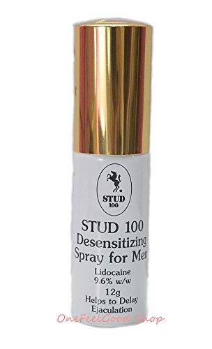 STUD 100 Desensitizing For Men Spray Delay Premature Ejaculation Prolong Sex Gold cap