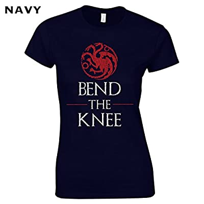 621 Bend the Knee Funny Women's Tee Shirt