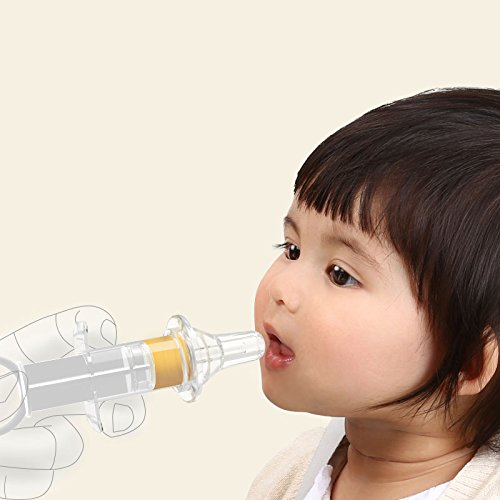 Baby kids Medicine Dispenser Pacifier Liquid Food Syringe Dropper Feeder for Infant Toddler Newborns BPA-free by HAIXIAO