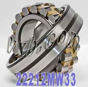 22212 MW33 Spherical Roller Bearing 60mm x 110mm x 28m