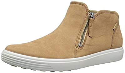 Ecco Women's Soft 7 Low Cut Zip Fashion Sneaker