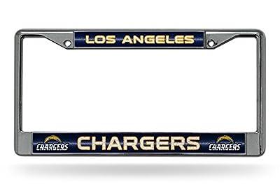 NFL Glitter Bling Chrome Plate Frame