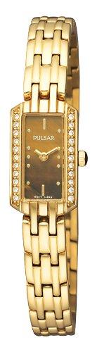 Pulsar Women's PEX542 Crystal Tigers Eye Dial ()