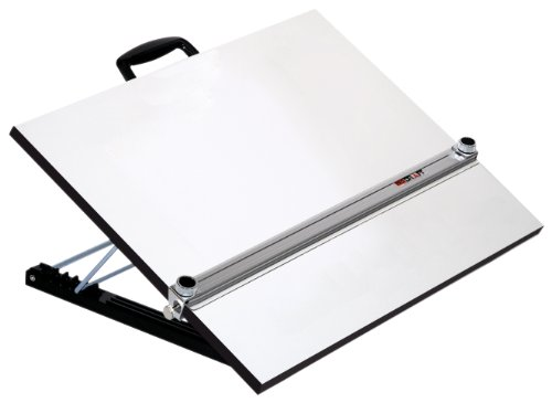 drafting table with parallel bar - 4