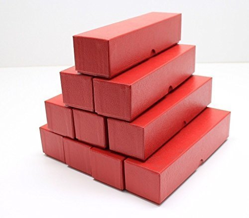 Coin Supplies - Guardhouse LOT of 10 Single Row 2x2 Storage Boxes for Coin Plastic & Paper Cardboard Flips