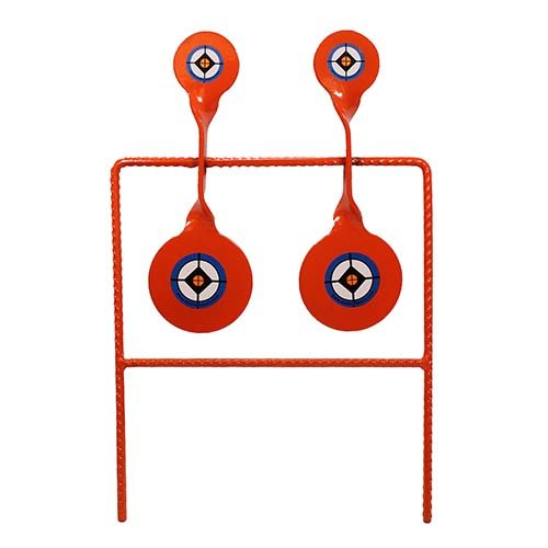 Do-All Outdoors SPH815 22 Double Spinner Steel Shooting Target for .22 Caliber, Orange, 11'' x 16'' x 1'' by Do-All Outdoors