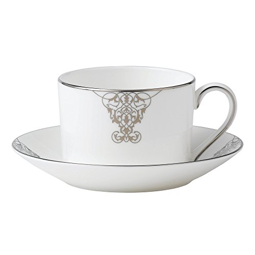 Wedgwood Imperial Scroll Teacup, White