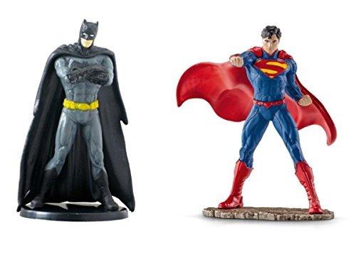 NEW Hot SELLER DC Comics Batman & Superman Figurine Cake Topper ~ 2.75